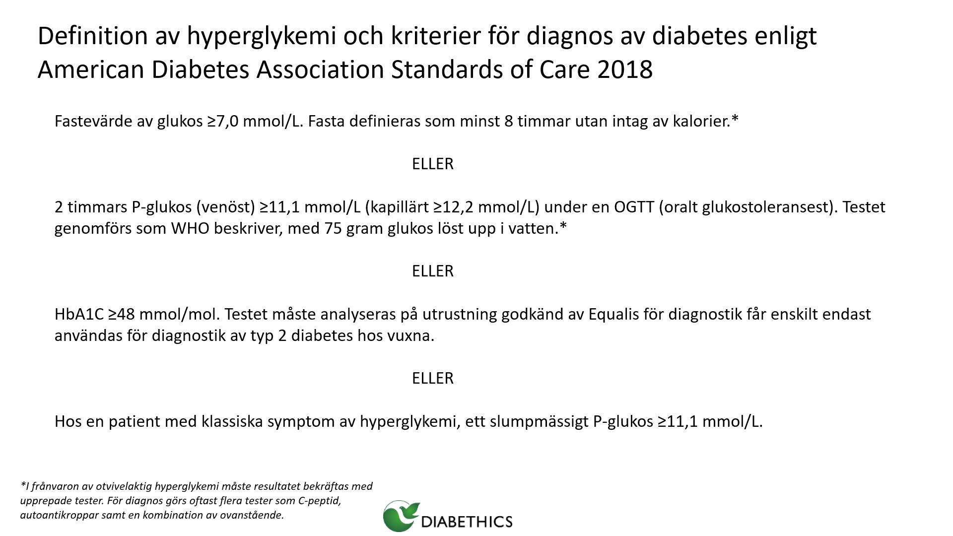 diabetes 1 eller 2